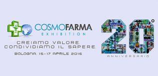 Cosmofarma Exhibition 2016: una grande vetrina sul mondo farmaceutico