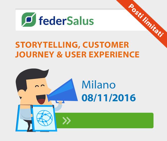 """Storytelling, Customer Journey & User Experience: la comunicazione come """"racconto"""" percepito e vissuto nel mondo Healthcare"""