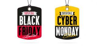 Tutti i numeri del Black Friday e del Cyber Monday