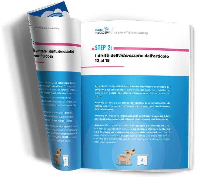 Guida GDPR: pagine interne