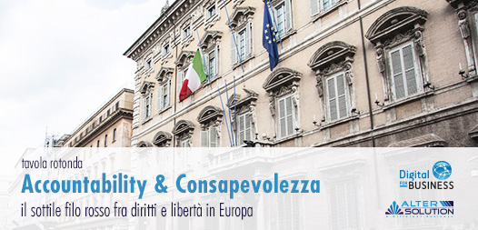 Accountability e Consapevolezza: il sottile filo rosso fra diritti e libertà in Europa