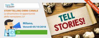 STORYTELLING OMNI-CANALE Le dinamiche e le opportunità della narrazione 2.0